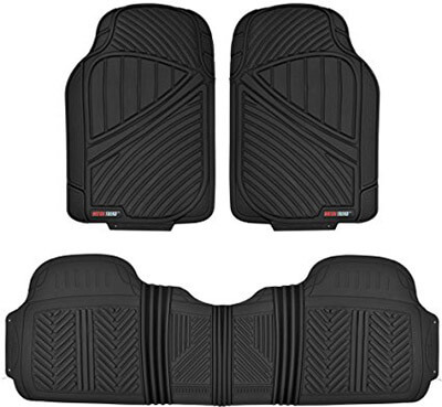 Motor Trend Rubber Car Floor Mats
