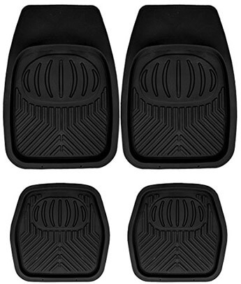 Mann Pack Rubber Car Floor Mats