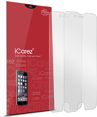 iCarez Screen Protector for iPhone 8