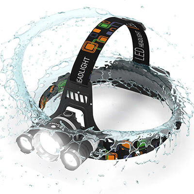MsForce LED Headlamp
