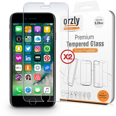 Orzly Screen Protector for iPhone 8