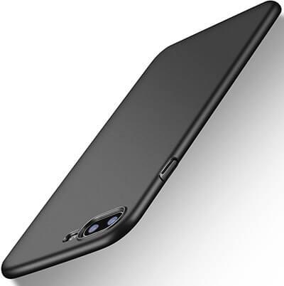 TORRAS iPhone 8 plus Caselim Fit Shell Hard Plastic Anti-Scratch Resistant Cover Case