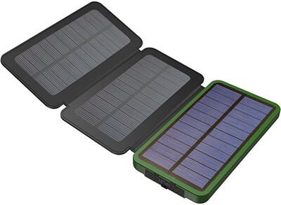 X-DRAGON 10000mAh Solar Power Bank/Charger