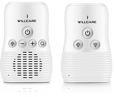 Willcare Baby Monitor Audio with Baby Night Light Two-Way Talking