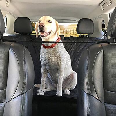 Kululu Design Premium Dog Car Seat Cover Hammock Style & Cargo Liner