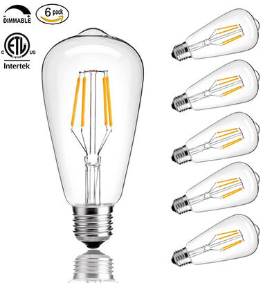 CMYK LED Light Bulb