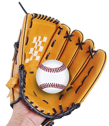Webetop Professional PU Leather Baseball Gloves Left Handed