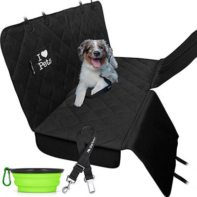 Starling's Heavy Duty, Waterproof, Non-Slip Dog Car Seat Cover
