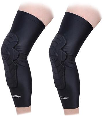 Legendfit Basketball Knee Pads Crashproof Antislip Compression Leg Knee Sleeves