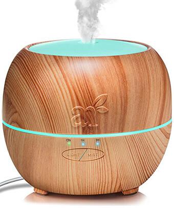 ArtNaturals Aromatherapy Essential Oil Diffuser, Ultrasonic Aroma Humidifier