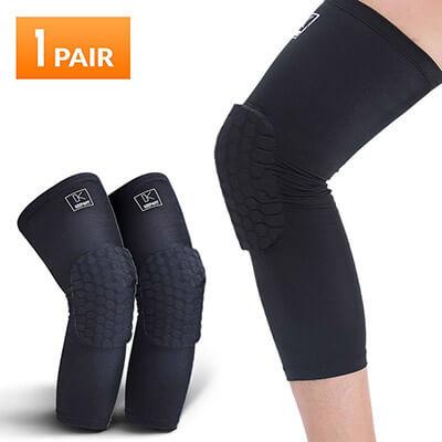 Keepafit Basketball Knee Pads, Compression Leg Sleeve