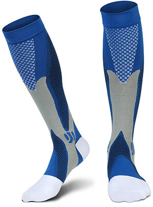 Relax Artist Lonperlope men and women Graduated Compression Socks