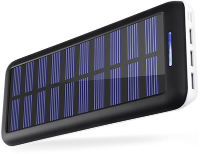 KEDRON 22000 Solar Charger 22000mAh External Battery