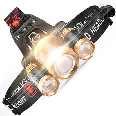 STCT Street Cat LED Headlamp