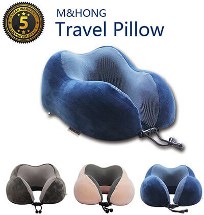 M&HONG Travel Pillow