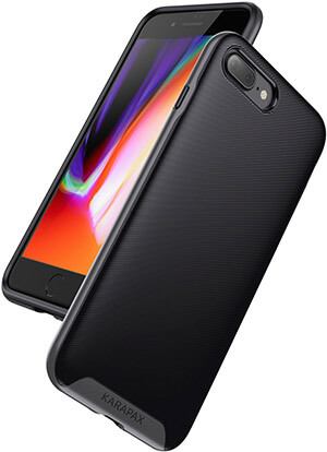 Anker KARAPAX Military-Grade Certified Protection, 3D Texture iPhone 8 plus Protective Case