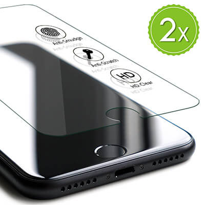 TEKXYZ iPhone 8 Plus Tempered Glass Screen Protector