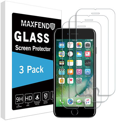 MAXFEND iPhone 8 Screen Protector