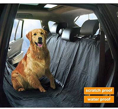 WeGuard Dog Car Seat Cover, Waterproof and Scratchproof dog Hammock