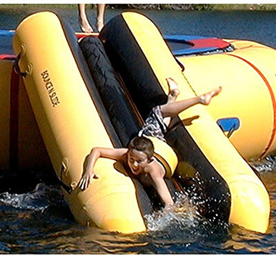 Island Hopper water Trampoline Attachment