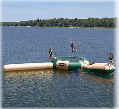 Rave Sports Aqua Jump Eclipse Water Park