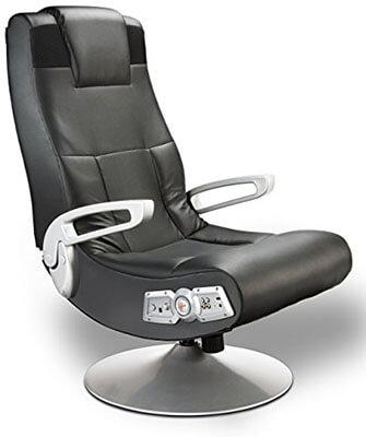 X Rocker 5127401 Pedestal Wireless Video Gaming Chair