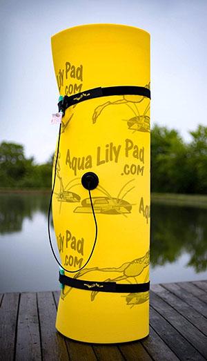 Aqua Lily Pad Floating Water Mat