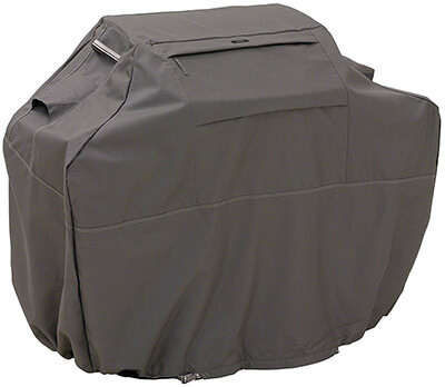 Classic Accessories Ravenna Grill Cover with Reinforced Fade-Resistant Fabric