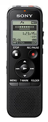 Sony ICD-PX440 Stereo IC Digital Voice Recorder Built-in 4GB, Direct USB