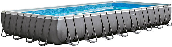 Intex Rectangular Ultra Frame Pool Set