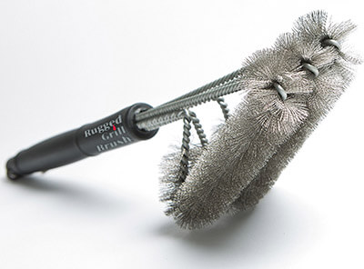Rugged BBQ Grill Brush