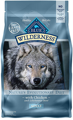 BLUE Wilderness High Protein Adult Dry Dog Food, Grain Free