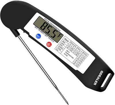GDEALER Instant Read Super-Fast Digital Electronic Food Thermometer
