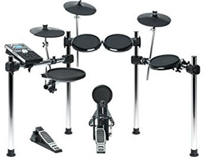 Alesis Forge Kit 8-Piece Electronic Drum Set with USB Port for User-Loaded Sample