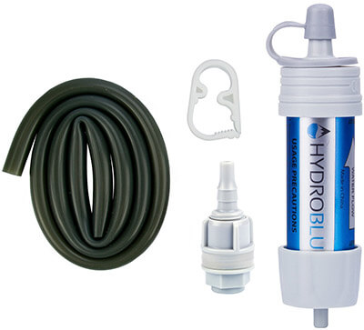 HydroBlu Versa Flow Light-Weight Water Filter System