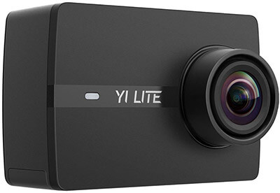 YI Lite 16MP Real 4K Sports Camera with Built-in WiFi, 2 Inch Touchscreen Action Camera