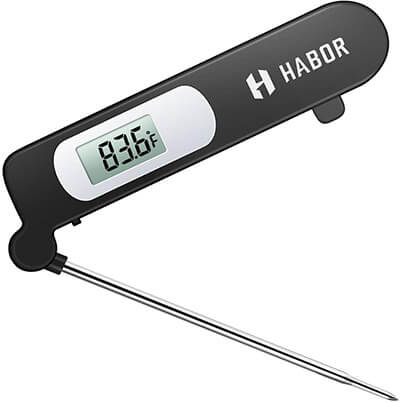 Habor Instant Read Meat, Super-Fast Accurate Cooking Electronic Kitchen Thermometer