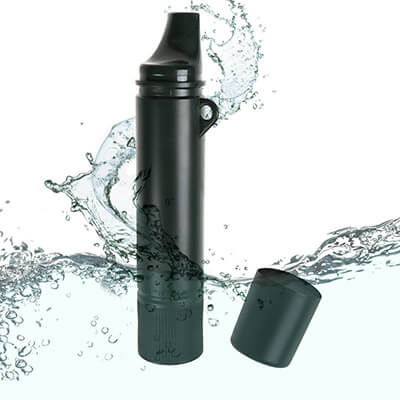 Ideapro Personal Water Filter Emergency Camping Straw Purifier