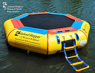 Island Hopper Padded Water Bouncer
