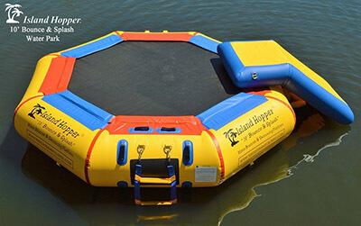 Island Hopper Bounce N Splash Water Park