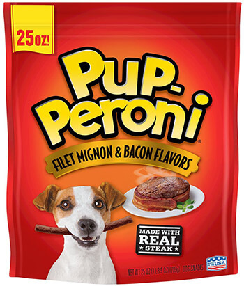 Pup-Peroni Dog Snacks Dry Food
