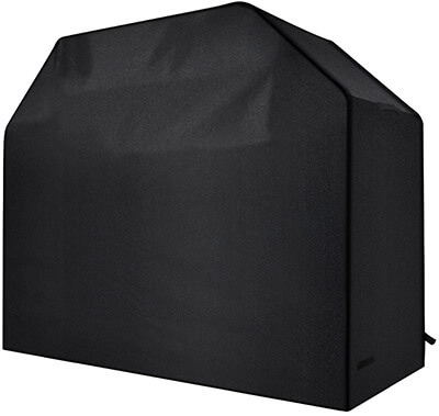 Homitt Gas Grill Cover, 600D Heavy Duty Waterproof BBQ Grill Cover