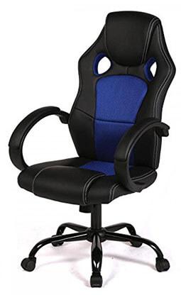 BestOffice Racing Car Style Bucket Seat Office Desk Chair Gaming Chair