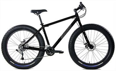 Gravity Bullseye Monster Aluminum Fat Bike, with Disc brakes