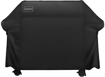 Homitt 600D Heavy Duty BBQ Grill Cover with UV Coating