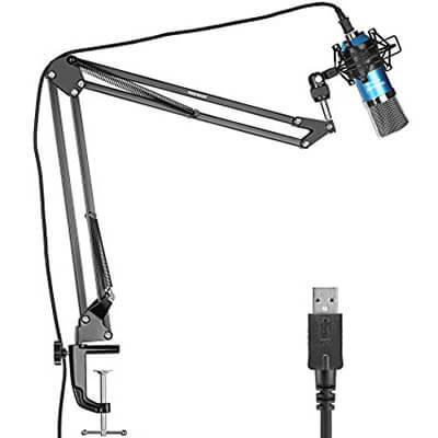 Neewer NW-7000 USB Professional Studio Condenser Microphone with Table Mounting Kit