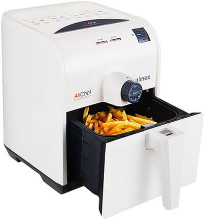 Cusimax 1400W Electric Air Fryer, 3QT, Temperature Control