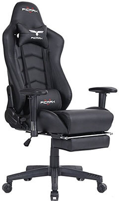 Ficmax Ergonomic High-back Large Office Desk Chair Swivel PC Gaming Chair