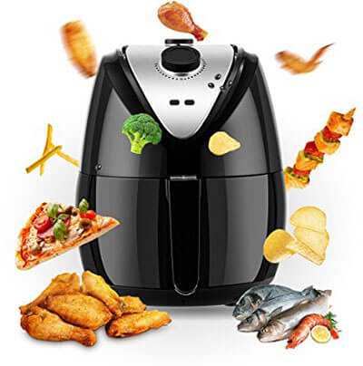 MeyKey HOMDOX Air Fryer, 4.8Quart, 1400W