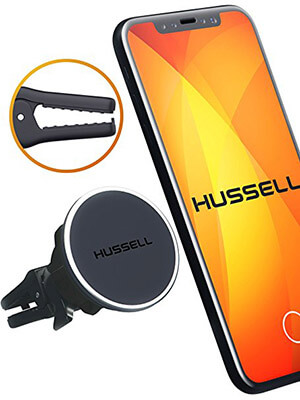 HUSSELL Universal Air Vent Car Magnetic Phone Mount